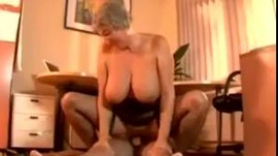 Big saggy tits big ass hot german granny fucked in stockings