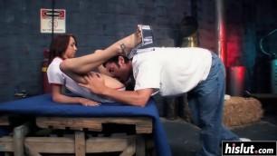 Roxy Starr gets a fat schlong