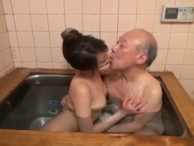 Old man involved doing young couple 2