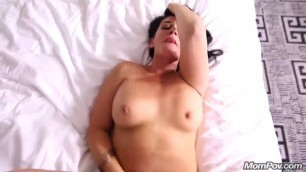 freaky hairstylist milf does first porn